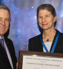 Dr. Anna-Lisa Paul receives NASA's Exceptional Scientific Achievement Medal